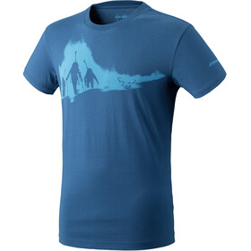 Dynafit M's Graphic CO SS Tee Poseidon/Ascent